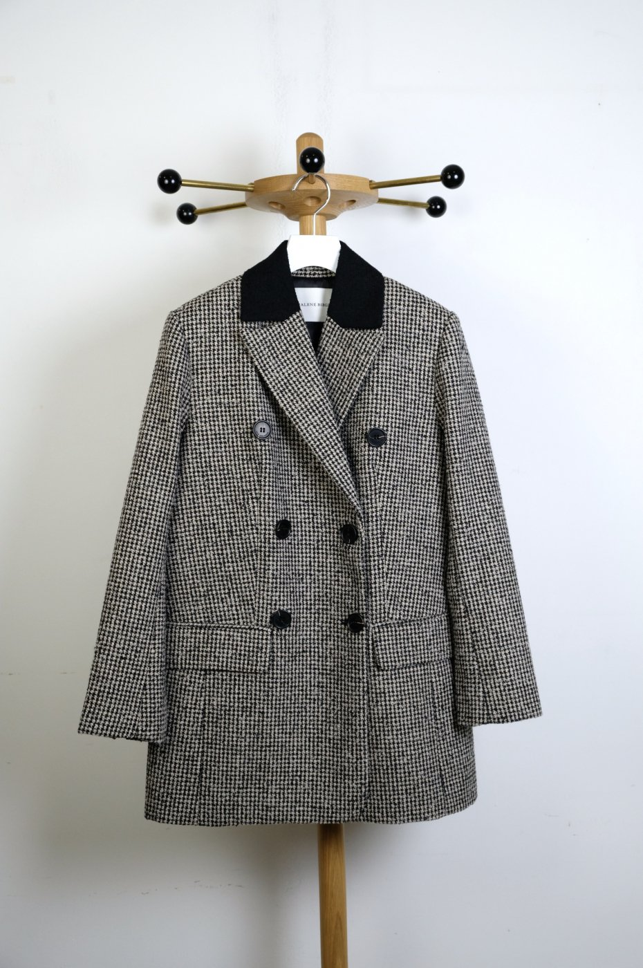 BY MALENE BIRGER(バイマレーネビルガー)-MAOULLE DOUBLE BREASTED BLAZER-BLACK