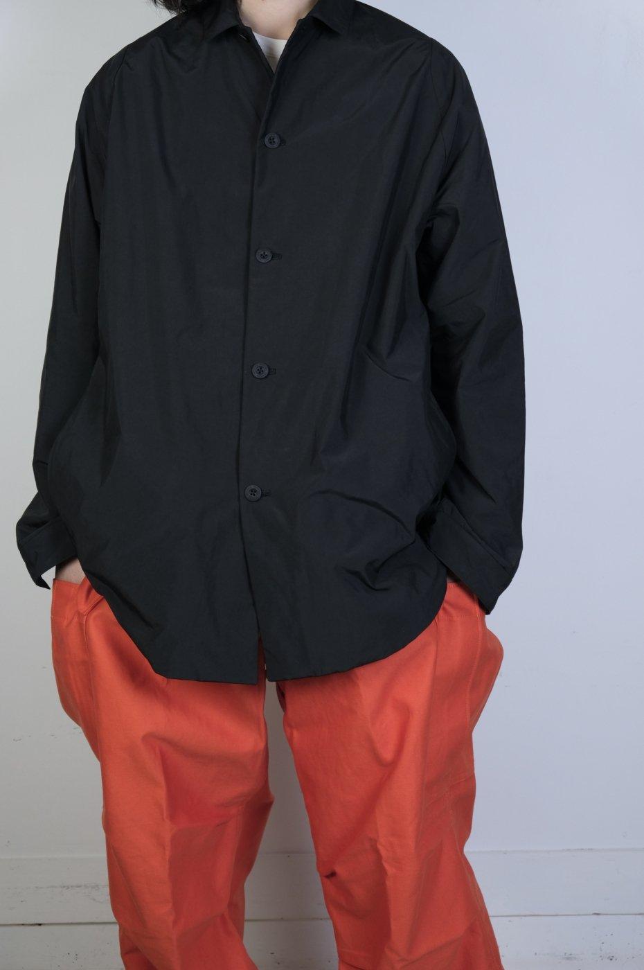 TEATORA テアトラ-CARTRIDGE SHIRT PLUS DP-BLACK
