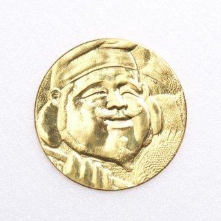 4-1.恵美寿純金 直径27mm 10g 1枚 プラスチックコインケース 【ネット限定】