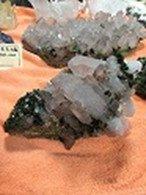 エピドット(緑簾石) 水晶 C-364