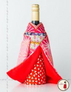 京・華つつみ 舞妓ボトル着物<br>【叶子(かなこ)】