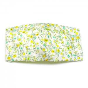 洗える布マスク・花灯黄