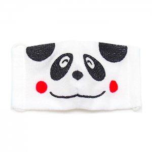 2~4歳幼児向けサイズ  マスク嫌いもこれで克服  パンダ柄刺繍 あにまるマスク