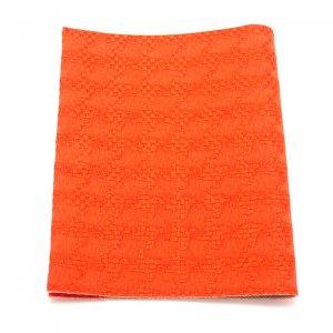 抗菌・抗ウイルス素材使用  マスクケース「マスくるん」   橙星
