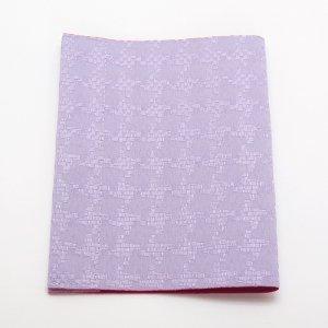 抗菌・抗ウイルス素材使用  マスクケース「マスくるん」   紫星