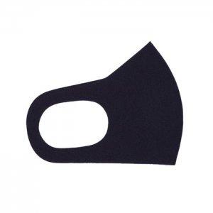 ここちいいマスク  無地 / 黒