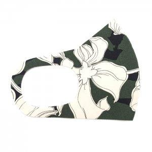 ここちいいマスク  花画 / 緑
