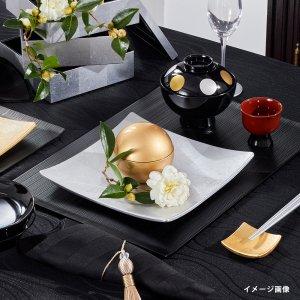 光田愛セレクト  テーブルクロス  ウェーブ / ブラック  2021 新作