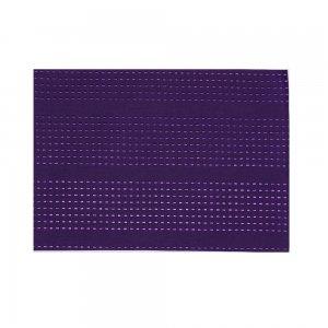 ランチョンマット  刺し子 / 紫