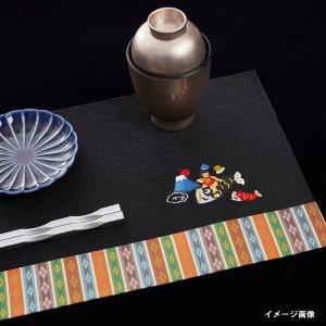 刺繍入り敷物  富士山 / 金太郎  大サイズ