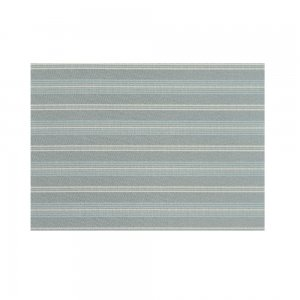ランチョンマット  縞型 / 灰青