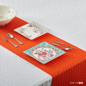 テーブルランナー  ハウンドトゥース / オレンジ