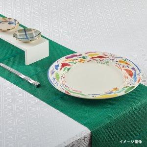 テーブルランナー  シャドーストライプ / グリーン