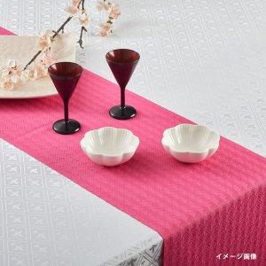 テーブルランナー  ハウンドトゥース / ピンク