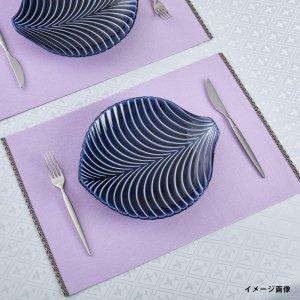 リバーシブル  ランチョンマット  エッジライン 2021新作  薄紫 / 紫紺