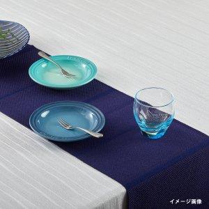 テーブルランナー  シャドーストライプ  / ネイビー
