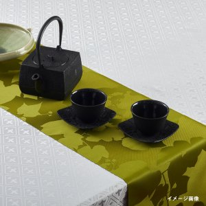 テーブルランナー  プラント / 抹茶