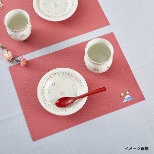 刺繍入りティーマット  富士桜