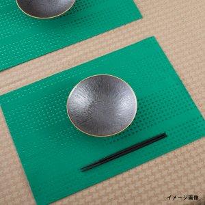 ランチョンマット  刺し子 / 緑