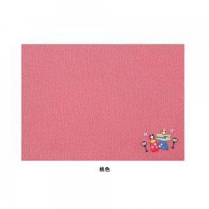 刺繍入りティーマット  ひなまつり / 立雛・桜