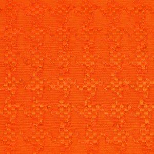 テーブルクロス  ハウンドトゥース / オレンジ