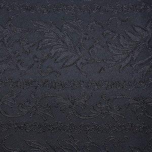 テーブルクロス  アールヌーボ / ブラック