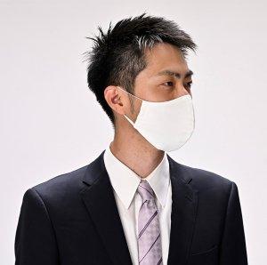 フォーマル、洋装に  フォーマルマスク・鮫小紋  3カラー / フリーサイズ