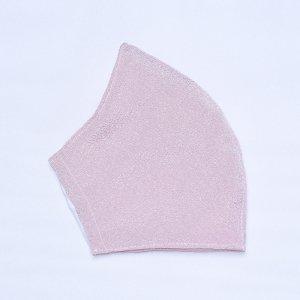 不織布マスクを通すだけ  肌に優しいマスクカバー  小波 / ピンク