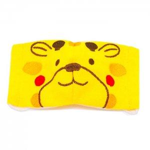 2~4歳幼児向けサイズ  マスク嫌いもこれで克服  キリン柄刺繍 あにまるマスク