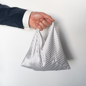 Chief de Bag  (チーフ・デ・バッグ)  レジメンタル/シルバー