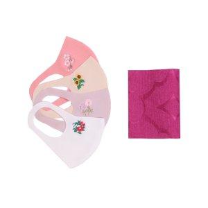 【送料無料】 母の日限定  マスク4枚、マスくるんセット