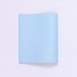抗菌・抗ウイルス素材使用  マスクケース「マスくるん」  水色