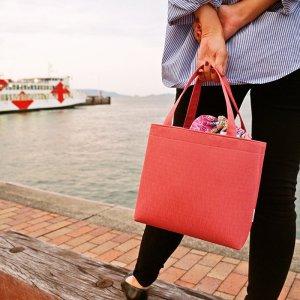巾着付きトートバッグ(12color)