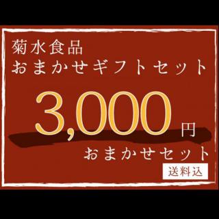 【ギフト】 3,000円おまかせセット