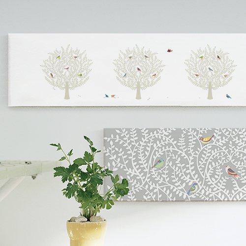 【ファブリックパネル】バードツリーA88x25