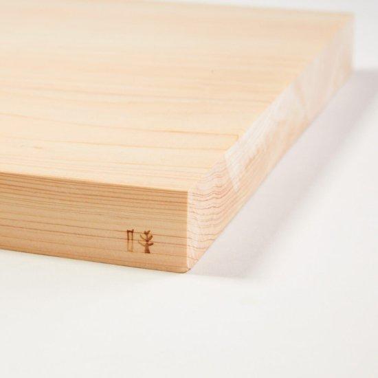檜のまな板(大)(27×40×3cm)