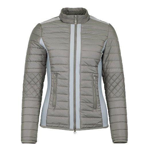 IW - キルトジャケット  Milano ホワイトサンド