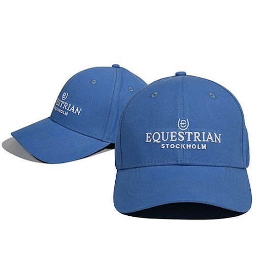 EQUESTRIAN STOCKHOLM コットンキャップ - Parisian Blue