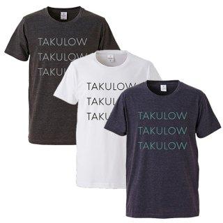 「TAKULOW」Tシャツ