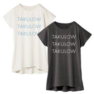 「TAKULOW」ワンピースTシャツ