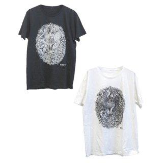 梟と花T-shirts