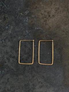 内山直人 真鍮ピアス p-br-10