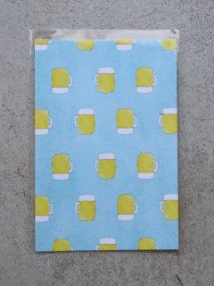 イイダ傘店 ポストカード ビール