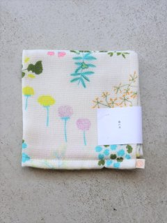 イイダ傘店 ミニタオル 森の花