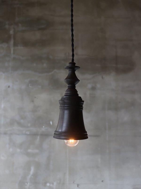 中村秀利 木製の照明