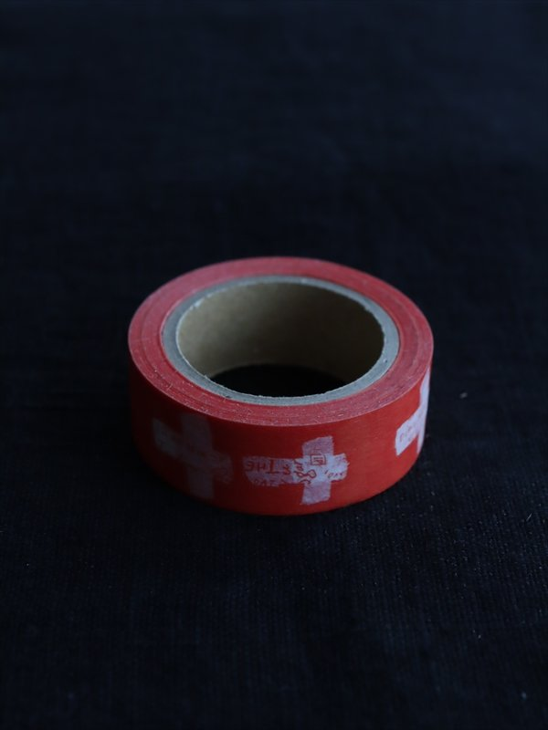 hase 赤いマスキングテープ