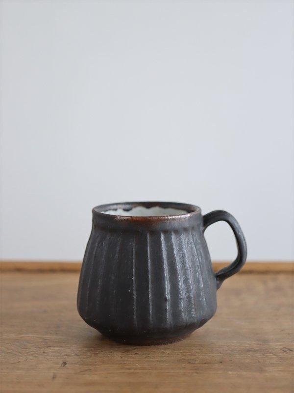 薬師寺和夫 マグカップ黒I
