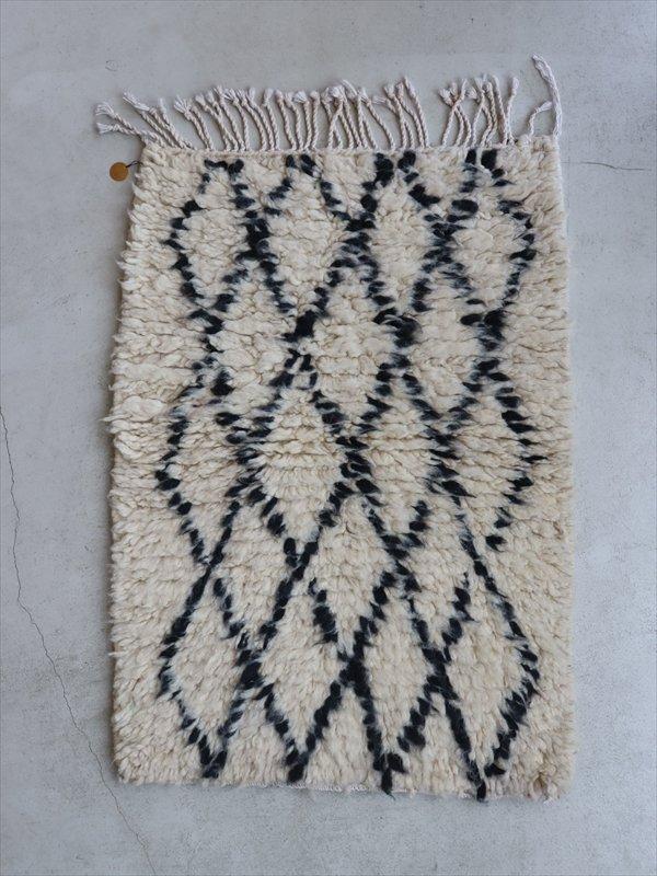 モロッコの羊毛ラグ B