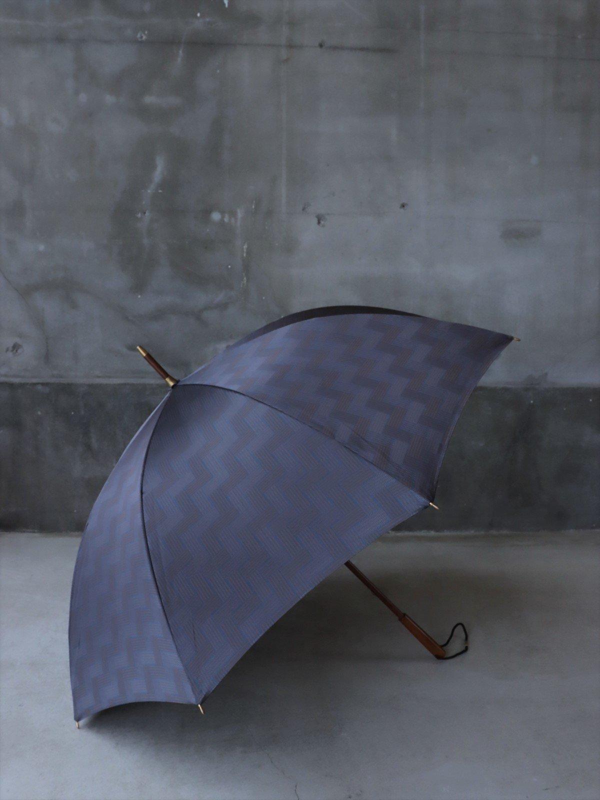 イイダ傘店 雨傘 タイル A