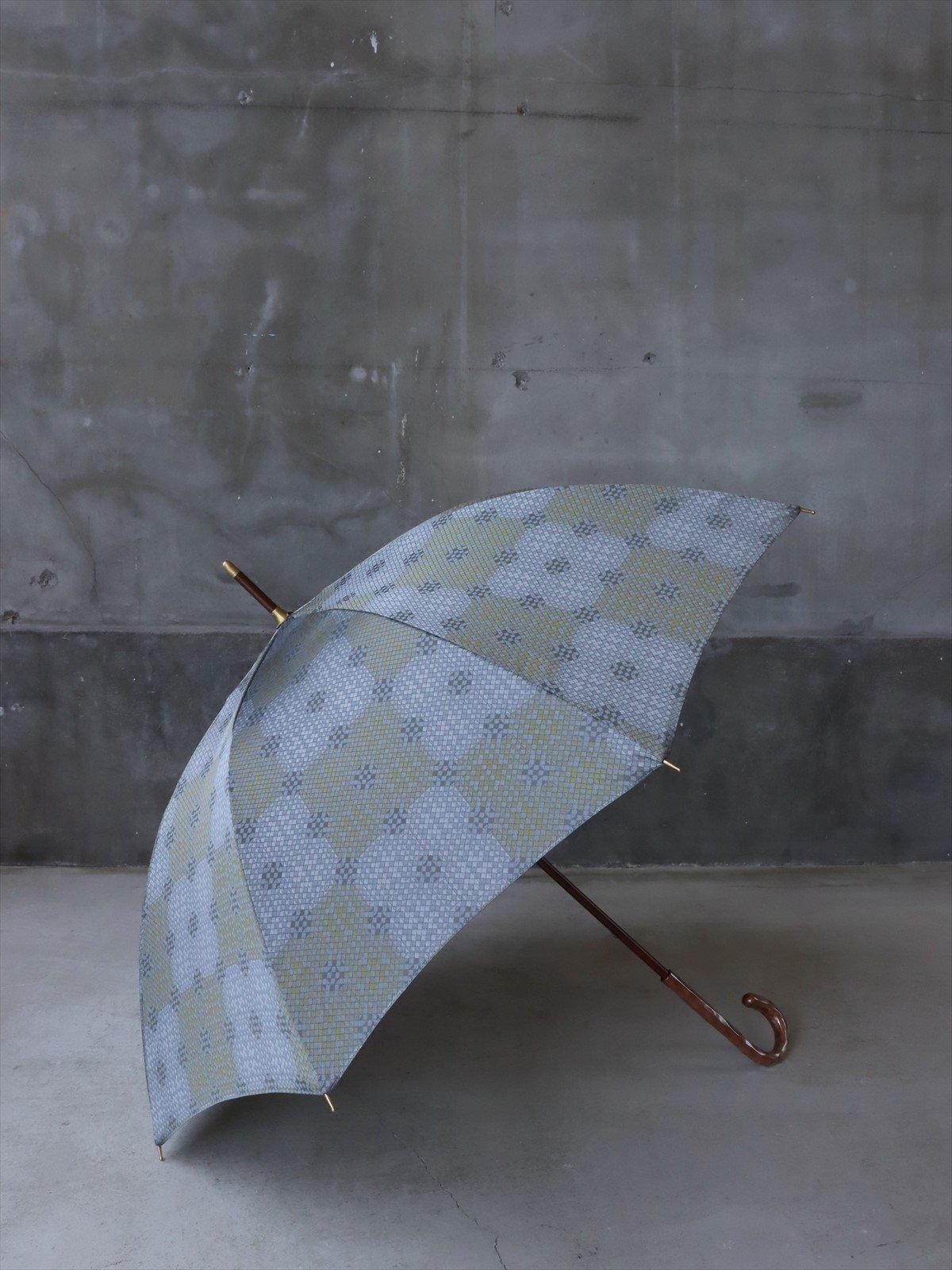 イイダ傘店 雨傘 モザイク